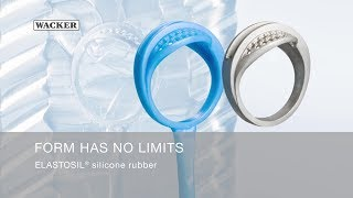 Form has no limits. ELASTOSIL® silicone rubber