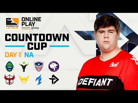 Knockout B | Houston Outlaws vs Los Angeles Valiant | Countdown Cup | NA Day 1