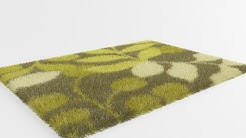 3ds Max Vray Realistic Rug & Carpet with Vray Fur  (Halı)
