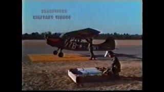 US ARMY Cessna O 1 L19 Bird Dog Vietnam Training Film 2 75 WP Rockets TF46 from 1969