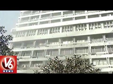 Fire Accident In Ordinance Factory Board Head Office | Kolkata | V6 News