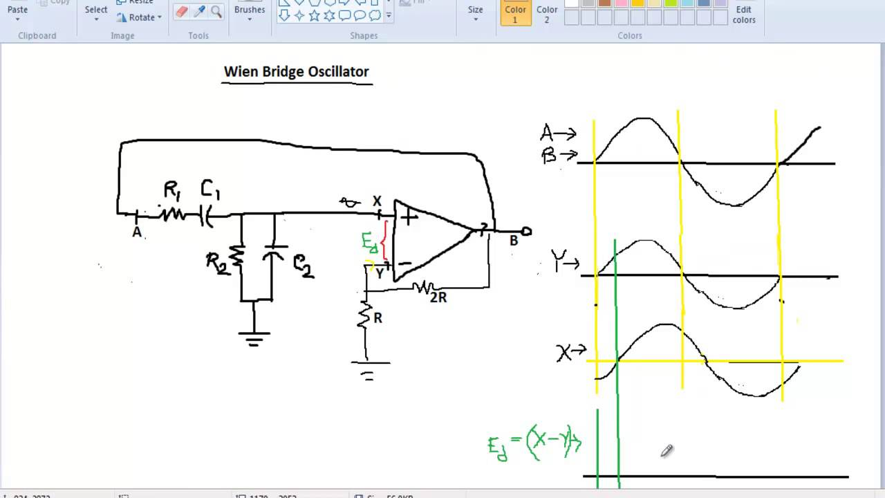 How An Op Amp Works Figure 2 Circuit Diagram For A Singlesupply Integrator Tutorial On Opamp Part 4 Oscillator Youtube