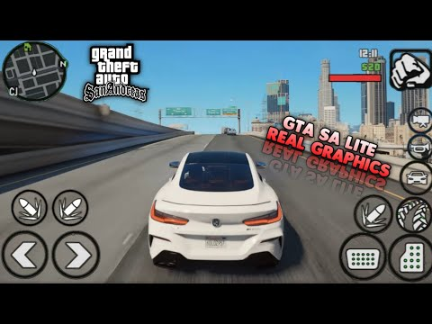 KEREN BANGAT!! GTA SA Real Graphics Mod With GTA V For Android | Full Mod | Support All Device