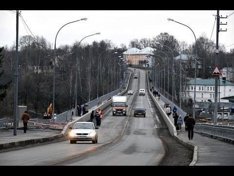 В Старице завершается ремонт моста, продолжается реконструкция набережной и готовится к открытию нов