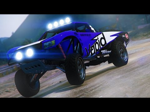 TROPHY TRUCK MADNESS/RUMBLE -Grand Theft Auto 5 With HikeTheGamer