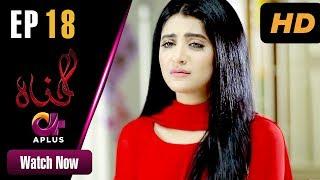 Gunnah - Episode 18 | Aplus Dramas | Sara Elahi, Shamoon Abbasi, Asad Malik | Pakistani Drama