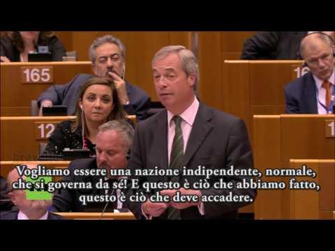 Nigel Farage 28/06/2016 sub ITA