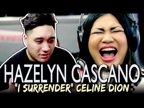 Hazelyn Cascaño - I Surrender (Celine Dion) LIVE on Wish 107.5 Bus REACTION!!!
