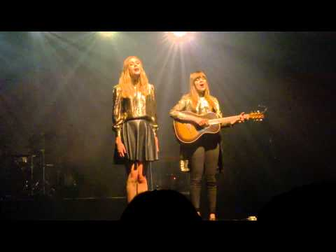 First Aid Kit - Ghost Town - Savoy Theater, Helsinki Dec 10, 2014