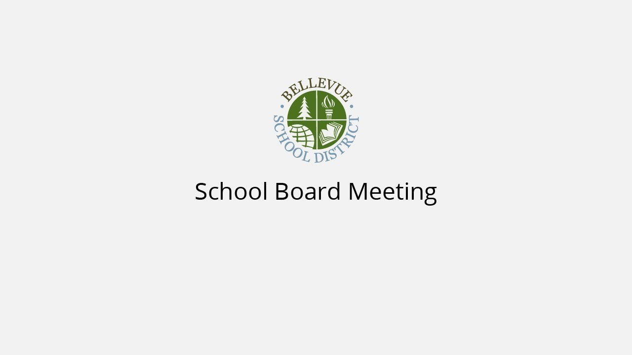 School Board Highlights: November 20, 2018 – Bellevue School