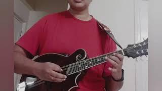 Saalutillave song from the movie Kotigobba 2 - Divya Anand on Mandolin