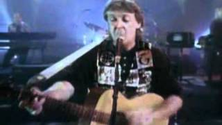 Paul McCartney-Biker Like An Icon (live 1993)