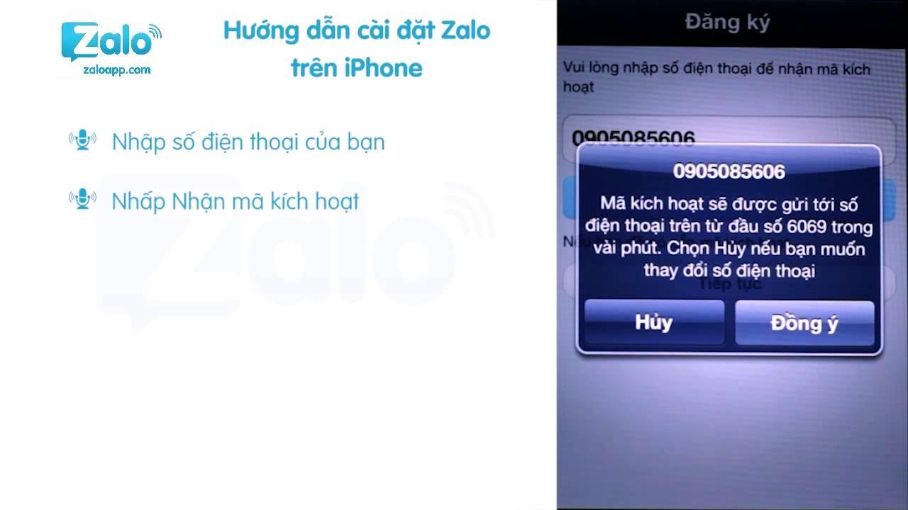 [HD] Hướng dẫn cài đặt Zalo trên IOS