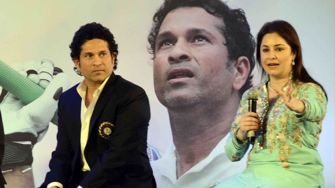 There Is A Big Age-Gap Between These Cricketers And Their ... Sachin Tendulkar Wife Age