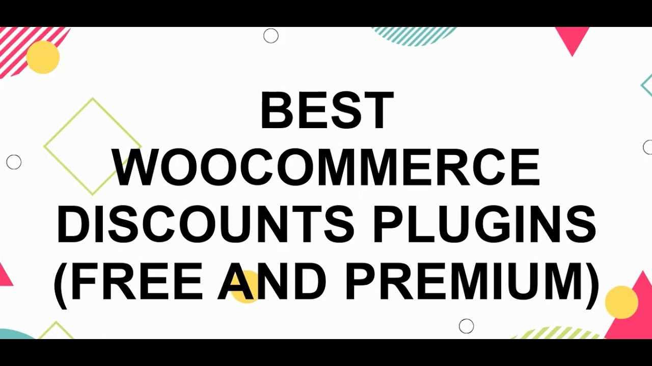 20 Best WooCommerce Dynamic Pricing and Discount Plugins with ...