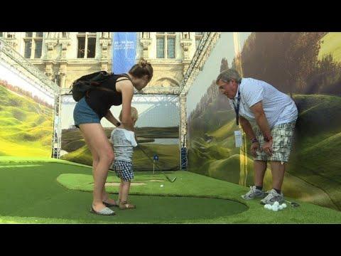 Le golf s'installe au coeur de Paris, le temps de la Ryder Cup