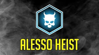 [Payday 2] One Down Difficulty - Alesso Heist (Solo Stealth)