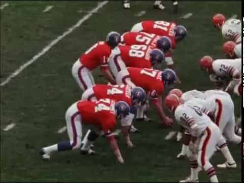1971 Broncos at Browns Game 6
