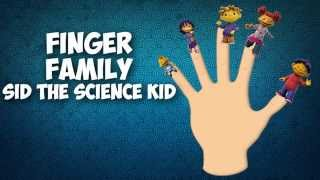 DADDY FINGER FAMILY SONG Sid The Science Kid Nursery Rhymes for Children Babies and Toddlers