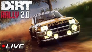 First Dirt Rally 2.0 Experience and Career HYPE Walkthrough #1 | Live