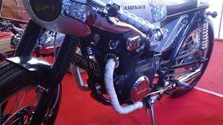 Full Custom Motor Klasik Honda CB & GL Modifikasi Bergaya Cafe Racer dan Brat Style