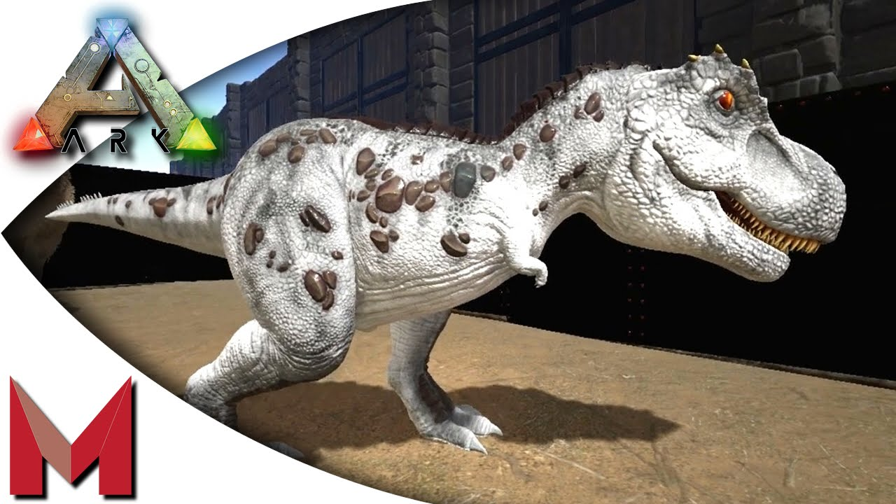 Ark Survival Evolved Albino T Rex Taming Mating Baby Se Gameplay Youtube
