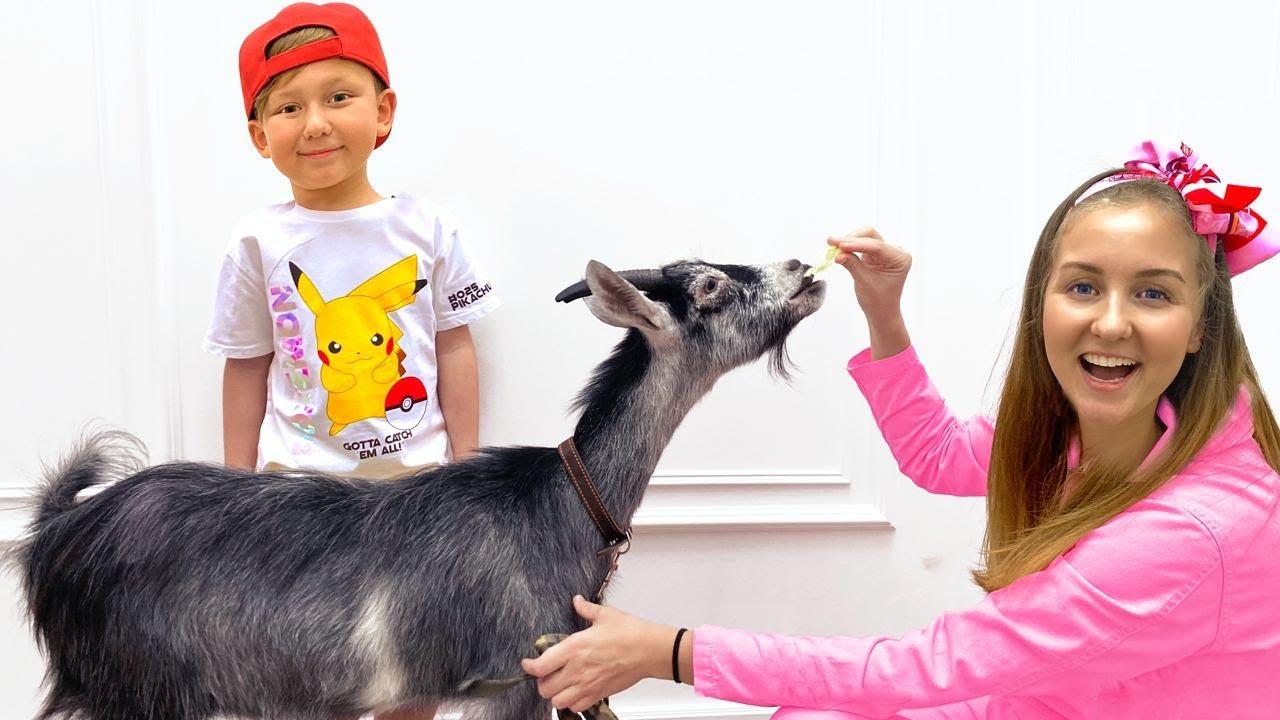 Senya and mom want new pets