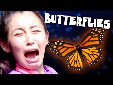 Olivia Faces Her Fear of Butterflies