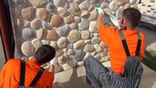 видео Виды декоративных камней для облицовки поверхностей
