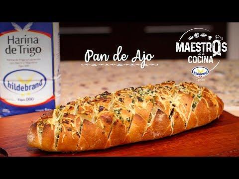 Pan de Ajo - Bruno Brusquetti - Maestros de la Cocina Hildebrand