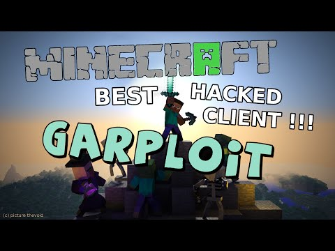 Best Minecraft 1.8 Hacked Client - Garploit  - Force OP, Account Stealer, and SERVER CRASHER ! [HD]