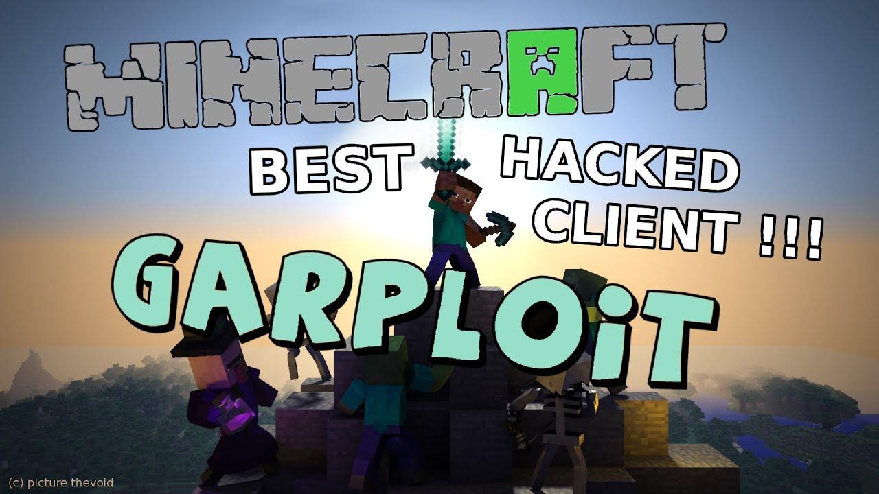Best Minecraft Hacked Client Garploit Force OP Account - Minecraft spieler finden hack