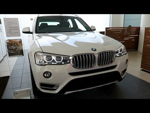 NEW 2017 BMW X3 - Exterior and Interior