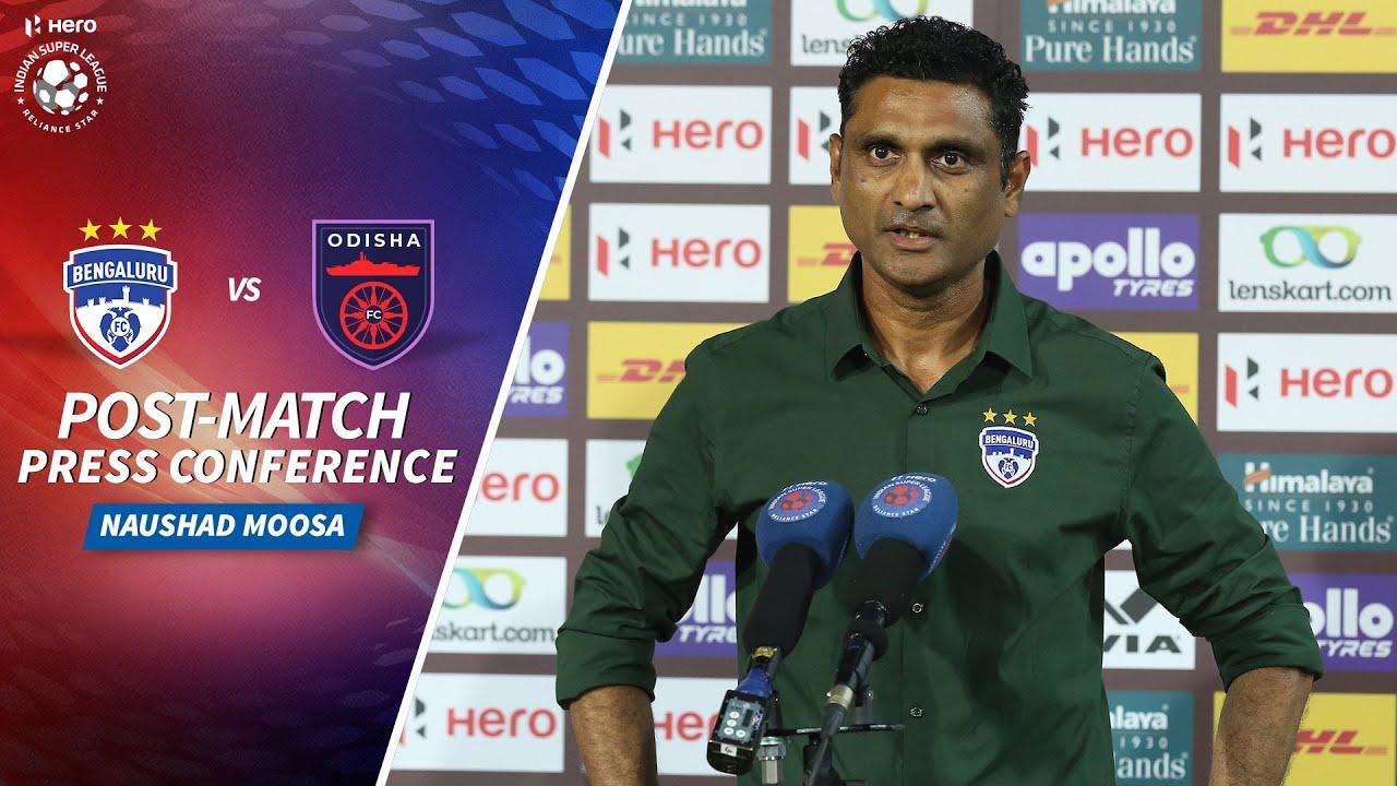 Naushad Moosa- BFC vs OFC - Post-match PC | Hero ISL 2020-21