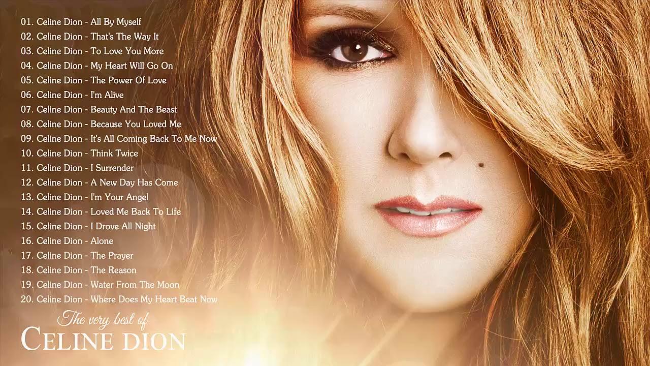 Download Celine Dion Greatest Hits Full Album Live 2018 - Best Of Celine Dion