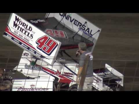 Sprint Invaders Shake Up Dash Lee County Speedway 8/19/16