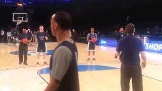 UConn MBB Practice, Madison Square Garden, NCAA Sweet 16, 3/27/14