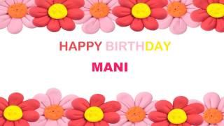 Mani   Birthday Postcards & Postales - Happy Birthday