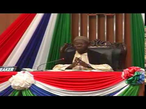 THE SECOND SESSION OF NATIONAL ASSEMBLY OF THE GAMBIA