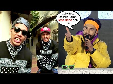Ranveer Singh's SH0CKING Refusal To Give Credit To Divine & Naezy On Whom Film Gully Boys Is Based