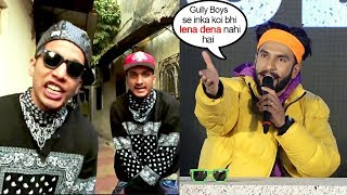 ranveer singhs sh0cking refusal to give credit to divine naezy on whom film gully boys is based