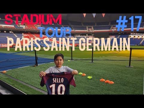 Stadium tour di stadium paris saint germain (#SEVLOGG)17