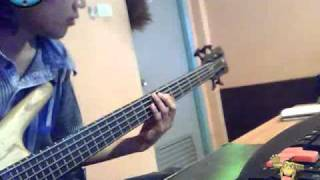 Doraemon - opening ( Bass cover by mai )