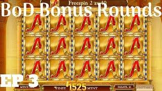 Book Of Dead - Bonus Rounds 03