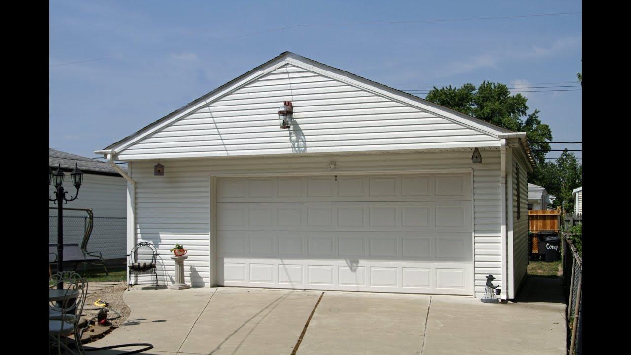 24x24 Garage built in 5 hours (7 3152x7 3152) Garaje construida en 5 horas