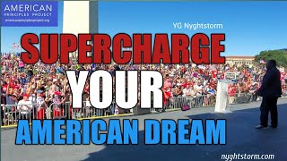 SUPERCHARGE YOUR AMERICAN DREAM| #Unsilent DC Full Speech
