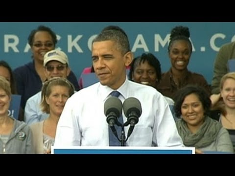 2012 Presidential Election: Mitt Romney's, President Obama's Campaign Event Strategy
