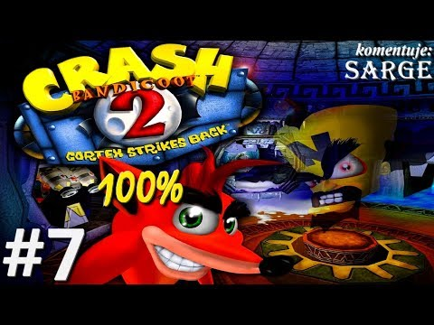 Zagrajmy w Crash Bandicoot 2 (100%) odc. 7 - Lot z jetpackiem