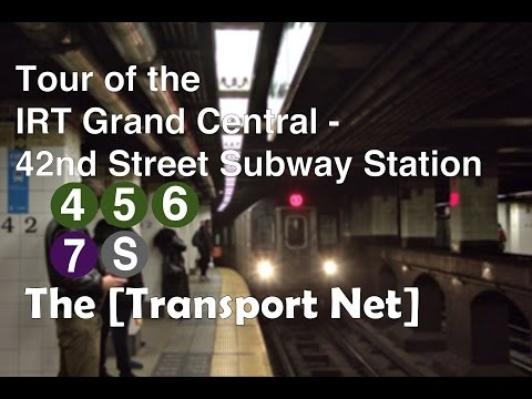 Train Station Tour: IRT Grand Central - East 42nd Street (4) (5) (6) (7) (S)
