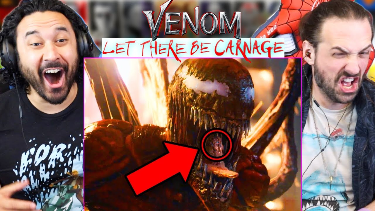 VENOM LET THERE BE CARNAGE TRAILER #2 EASTER EGGS & BREAKDOWN - REACTION!! Details You Missed